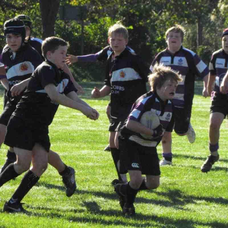 Under 13's vs Exeter Cheifs