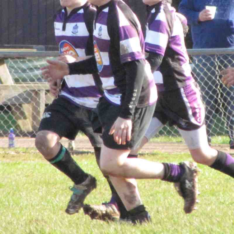 Under 13's Plate Game