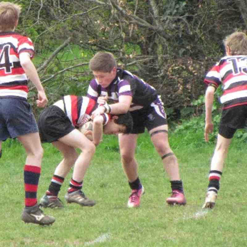 Under 13's vs Teignmouth