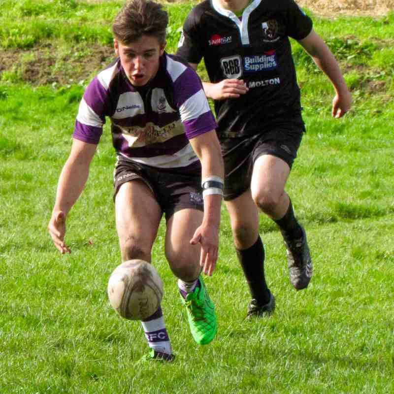 U16's vs South Molton