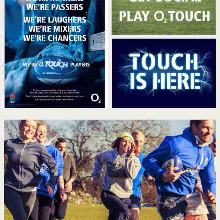Summer O2 Touch Rugby at SRFC