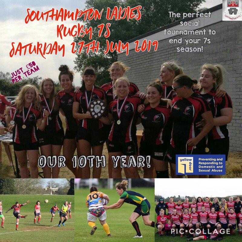Southampton Ladies 7s 2019