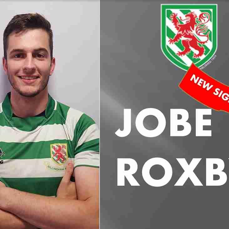 Jobe Roxby Signs for Billingham!!