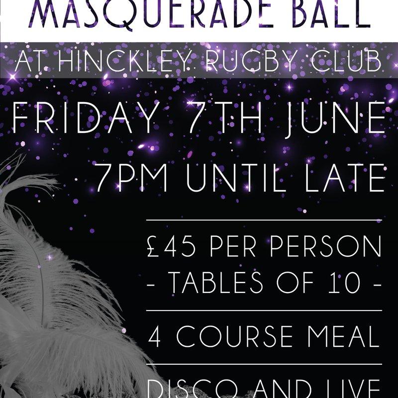 End of Season Masquerade Ball