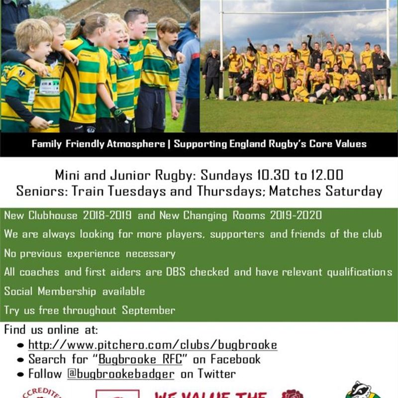 Want to Play Rugby?