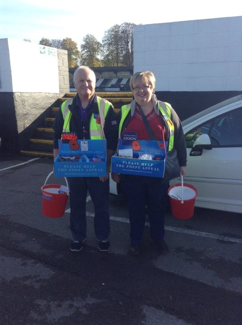 Poppy collection at York Road - News - Maidenhead United