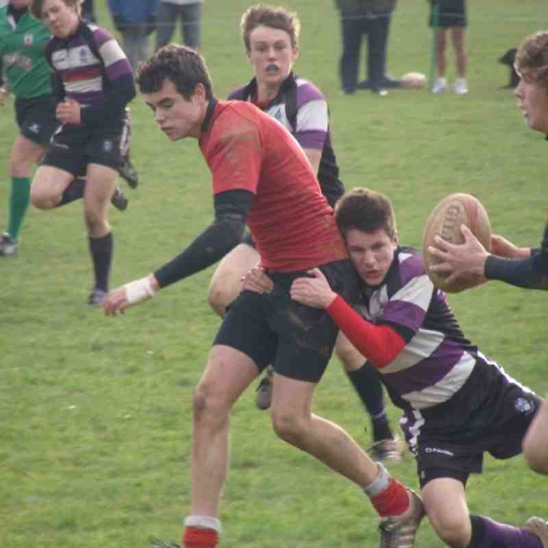 Cockles U16's vs Sarries