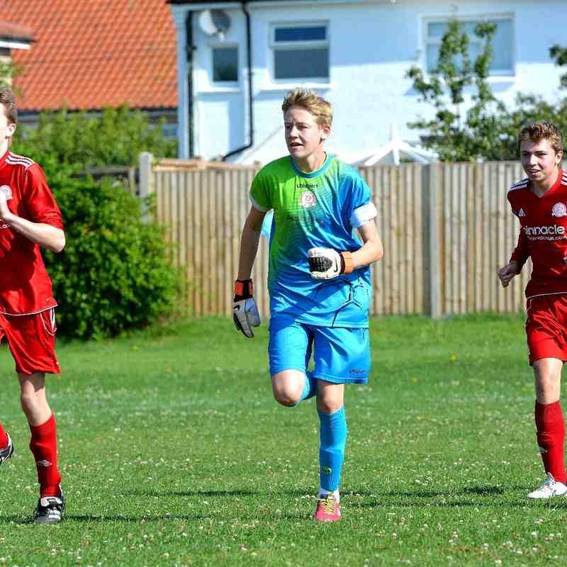 Worthing Dynamos U16s V Littlehampton & Barnham Pre-Season Friendies 16-9-2015.