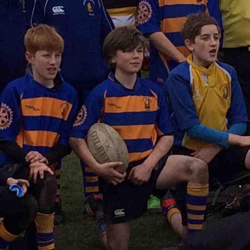 Saxon U12 vesus Portsmouth Junior 6 Mar 16