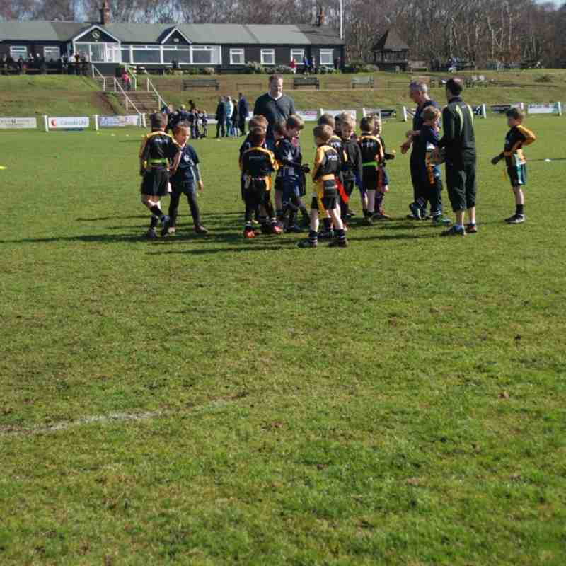 Under 8's at Caldy March 2012