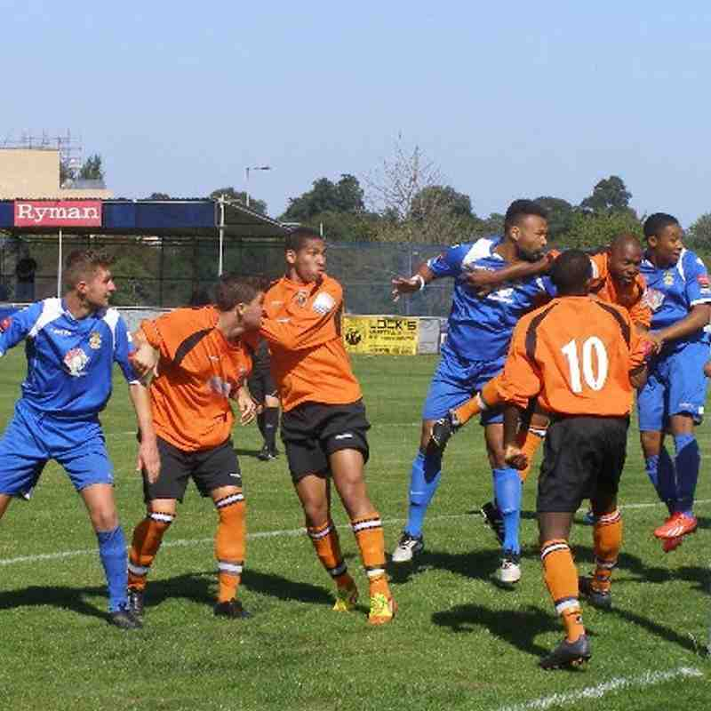 Waltham Forest (Cup) 31-8-13
