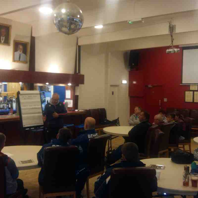 1st BERFC Coach the Coaches Session - Harry Harrison - 30/10/17