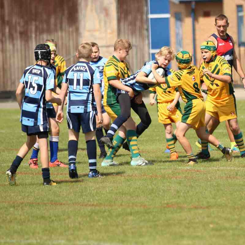 Chester Gladiators U11s v Woolston Rovers Golds (2018)