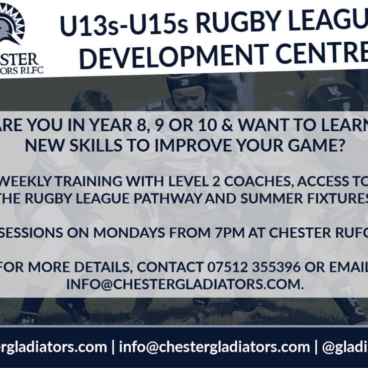 Coaching for U13s-U15s