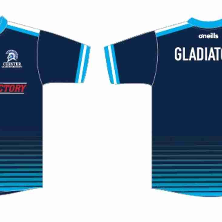 Gladiators training t-shirt orders