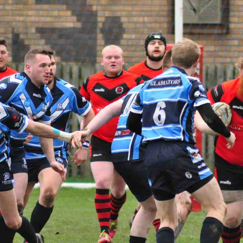 Chester Gladiators v Cadishead Rhinos (2019) (Credit: Marissa Ruth Photography)