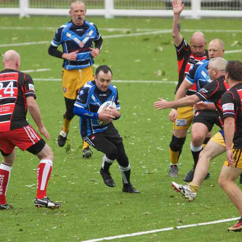 Chester Gladiators Masters v Leyland Warriors Masters