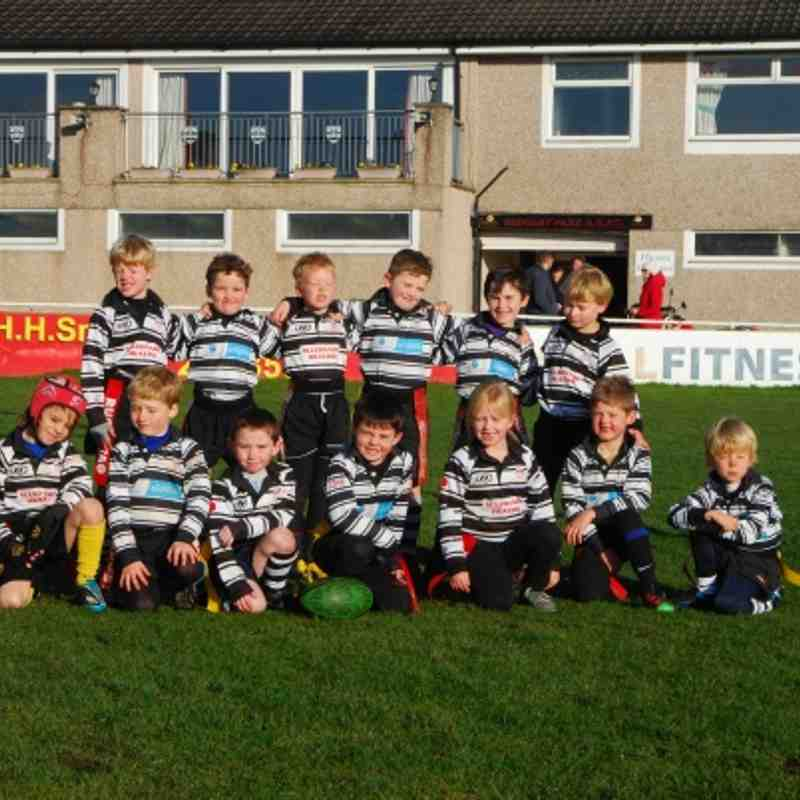 U7/8's away at Sedgley Park 18 November 2012 (by Seb Shannon)