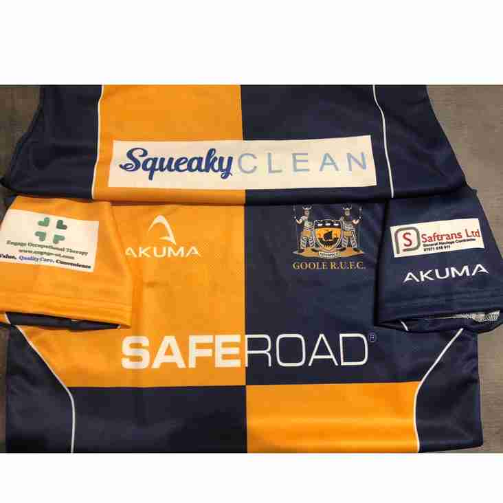 A thanks to our sponsors form the Under 13's