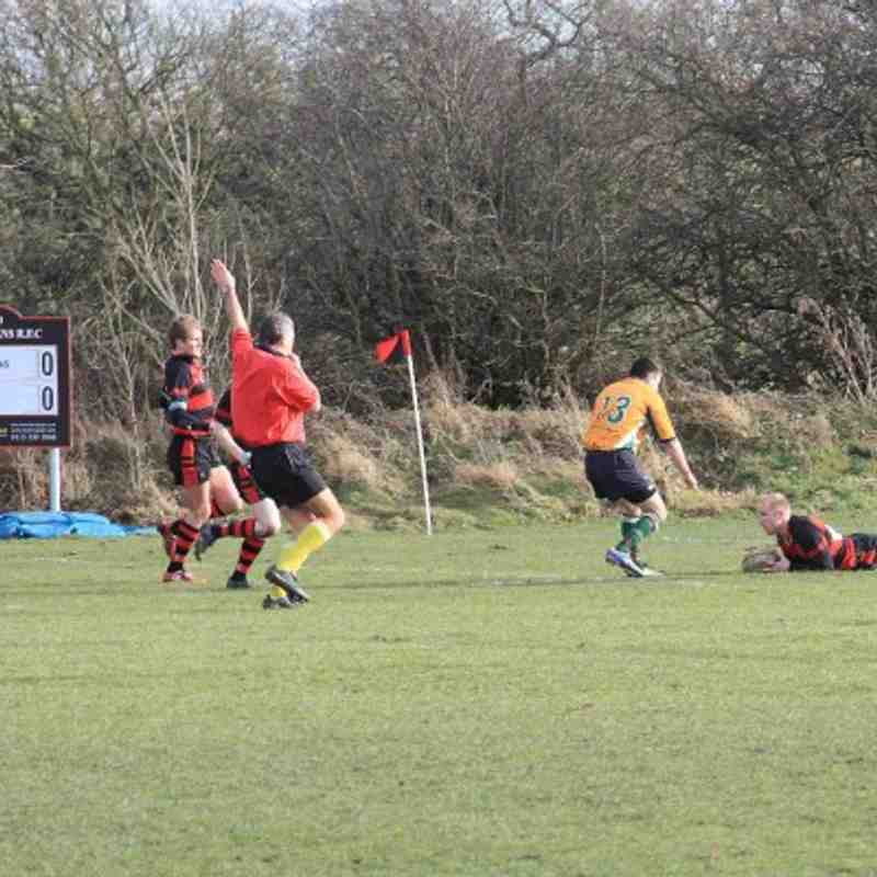 1st XV v Northallerton 21/2/09