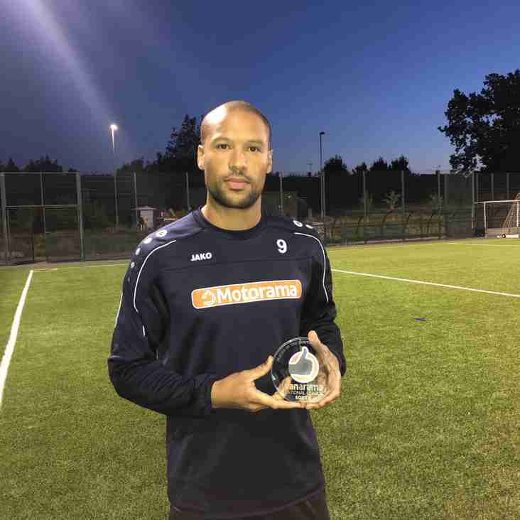 Lafayette earns Player of the Month award in National League South