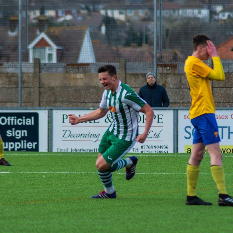 Dunn Goal Sends League Leaders Chichester Ten Points Clear