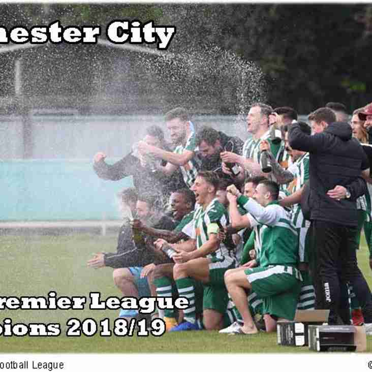 Chichester City Are Champions
