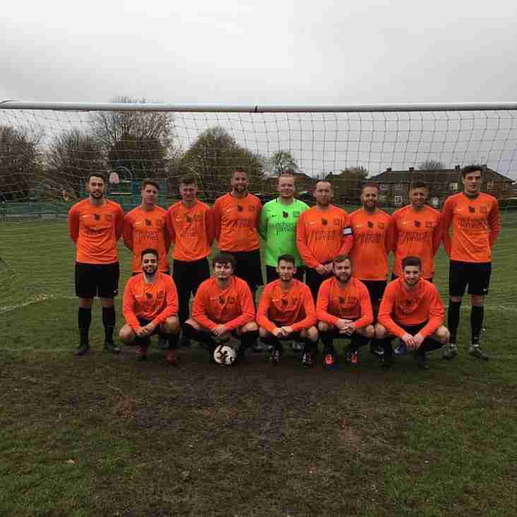 SJFC Men's team in the final of the Wilts Junior Cup