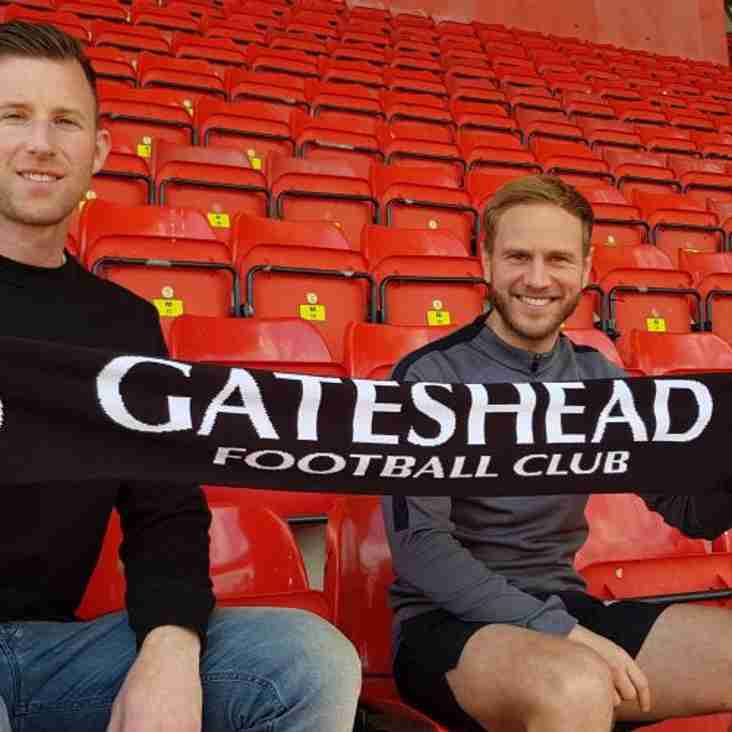 Mike Is The Man As Gateshead Make Swift Appointment