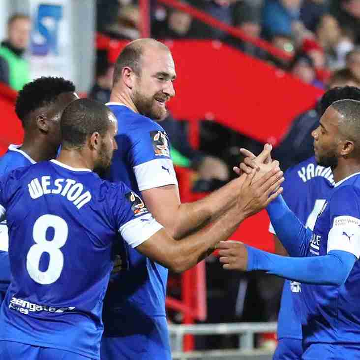 Spireites Surge Out Of Bottom Four As Wrexham Return