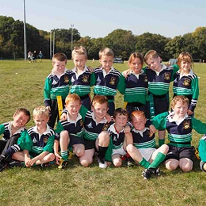 Folkestone Under 7's playing Dover - 2.10.11