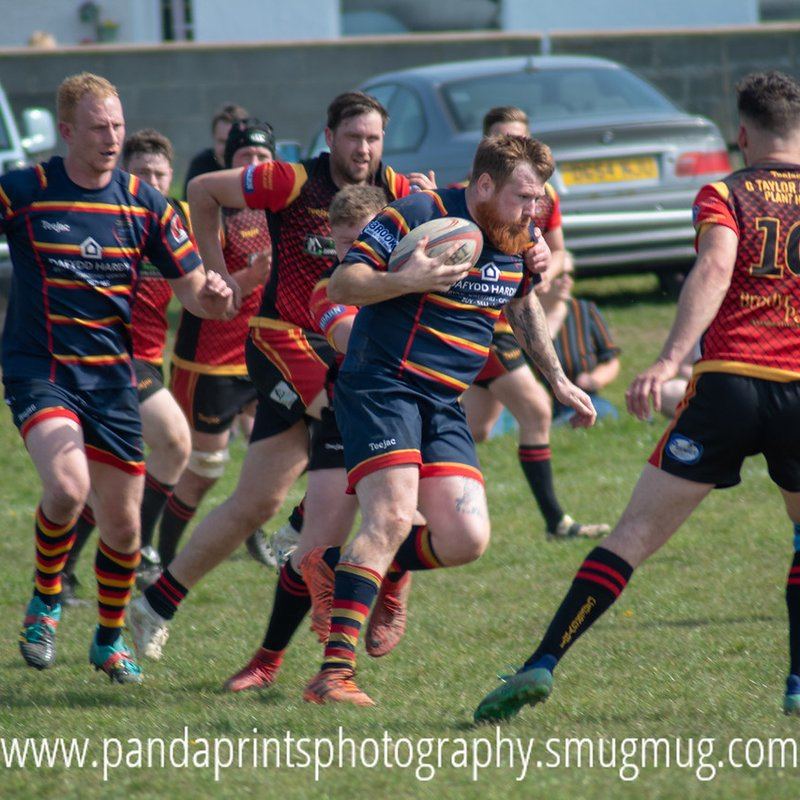 Holyhead 10 v Menai Bridge 14 - match report
