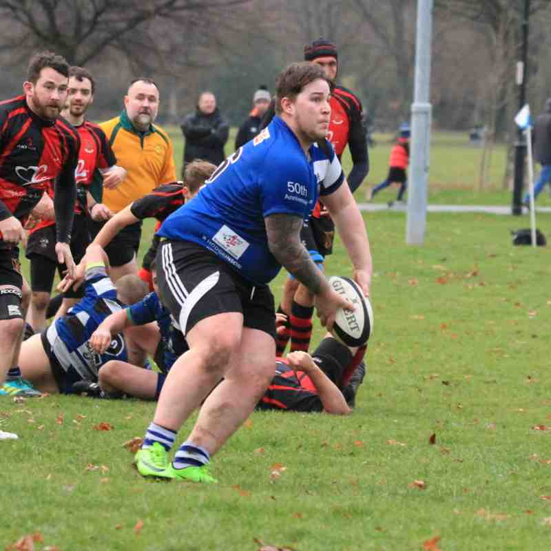 Long Eaton 2 nd XV vs Castle Donington RFC  24,11,2018.