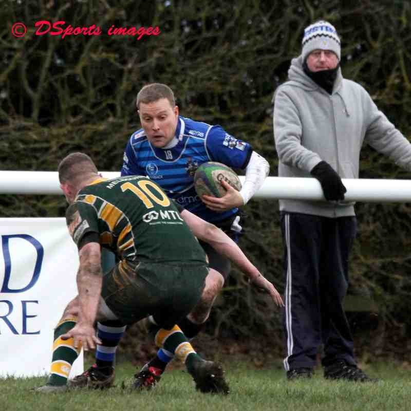 Melbourne RFC vs Long Eaton 1 st XV , 26,1,2019.