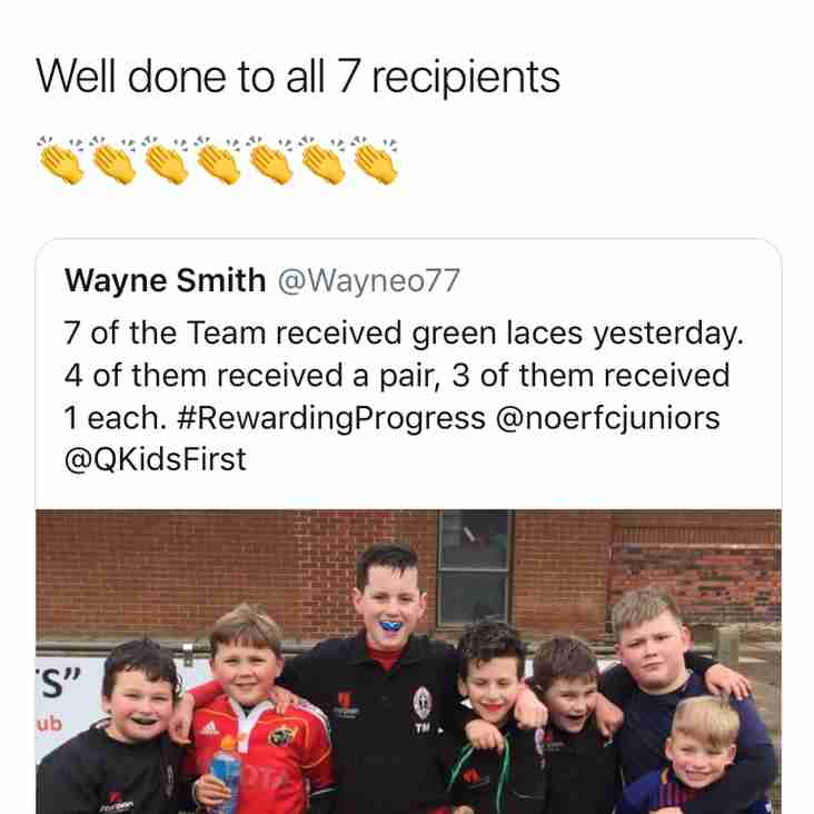 Minis Players applauded by Quilter for hitting core values