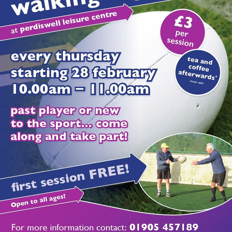 Can you think of anyone who would enjoy walking rugby?