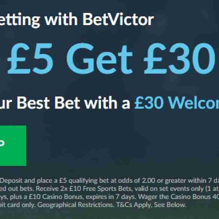 Promotional Content from BetVictor