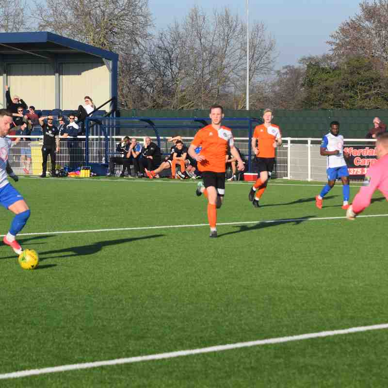 Aveley FC v Bury Town - 23/02/19 - Part 2
