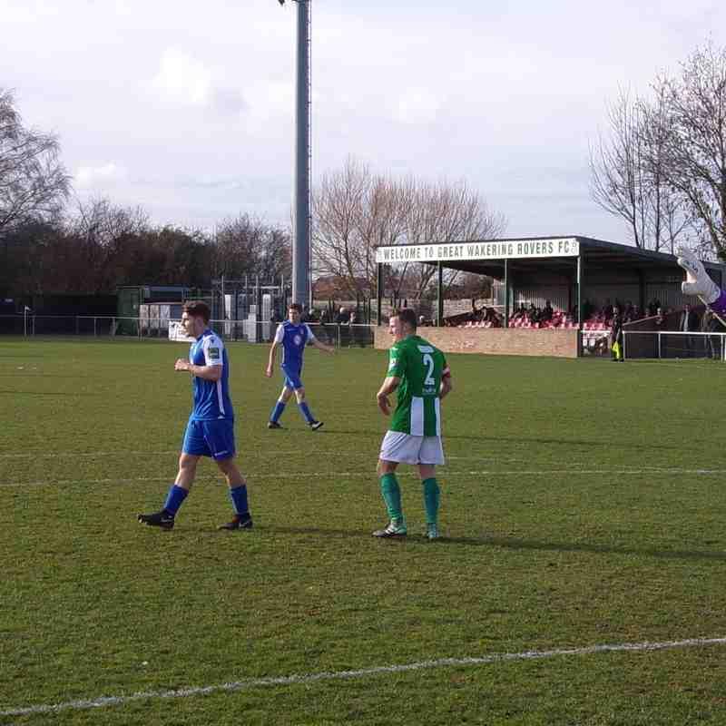 Aveley v Great Wakering Rovers - Away
