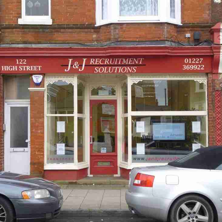 J & J Recruitment Solutions Sponsor our U16's