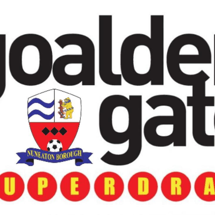 GOALDEN GATE SUPERDRAW: Week 4 Results