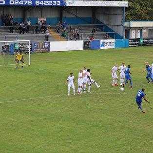 Nuneaton Borough 0 Coventry City XI 1