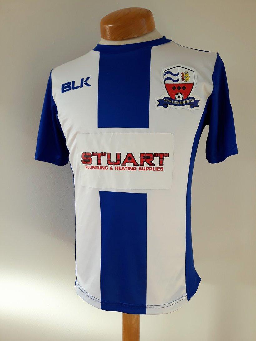 ON SALE NOW  Match Worn Shirts for £25 - News - Nuneaton ... cef85012b
