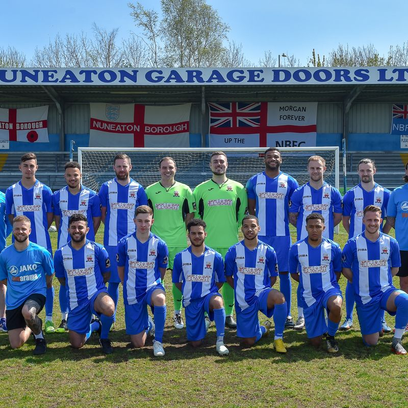 Nuneaton Borough 1st Team beat Hinckley AFC 0 - 6