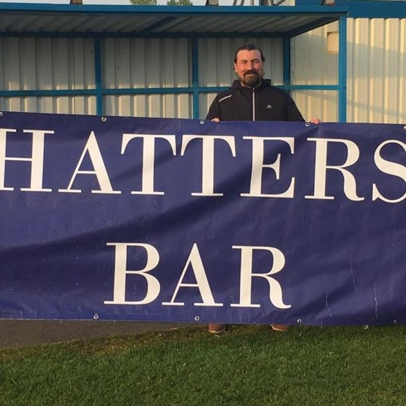 "Boro' Auctioning Off ""Hatters Bar"" Banner"