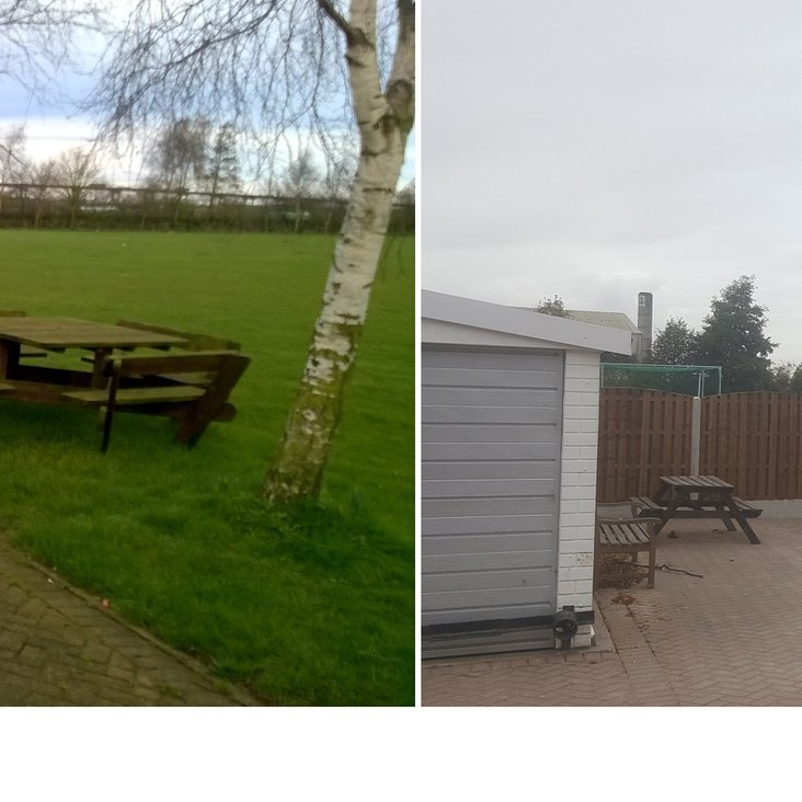 GTCC Outdoor Family Area Works Completed<