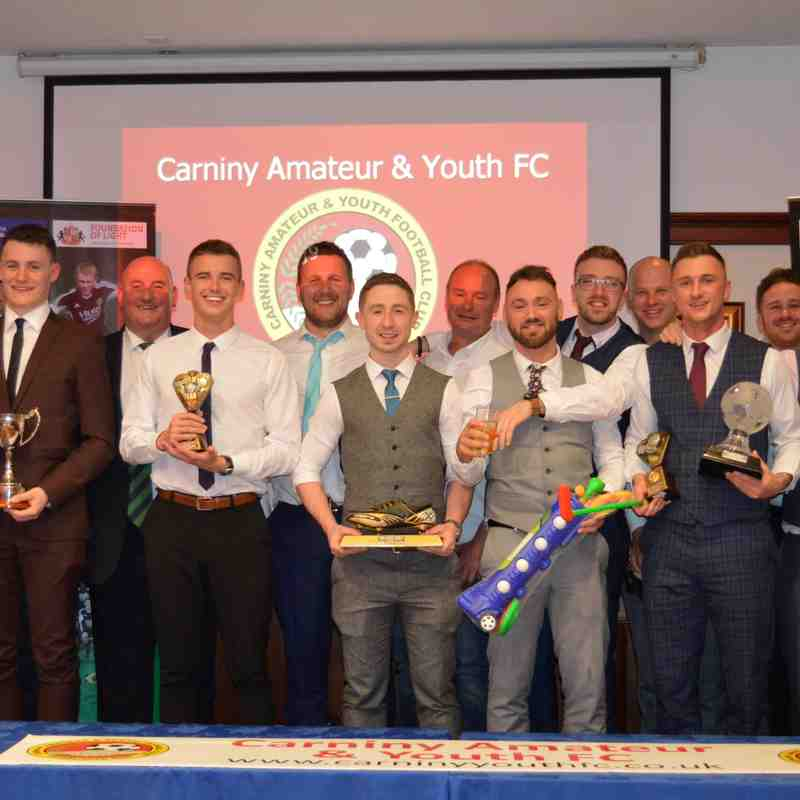 Carniny AYFC AWARDS 2019