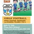 Girls Football Coming To Salts Juniors