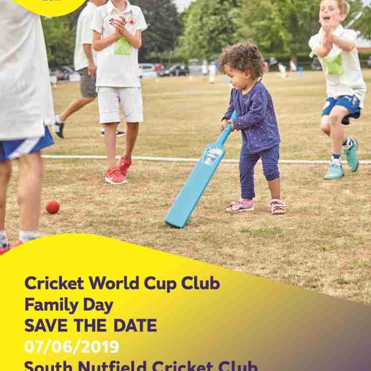 Family Cricket World Cup Day @ SNCC is still ON! #CWC19Clubs