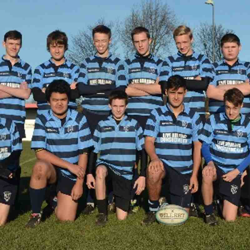 Bury vs. Liverpool Collegiate (Under 15's) - Lancashire Cup